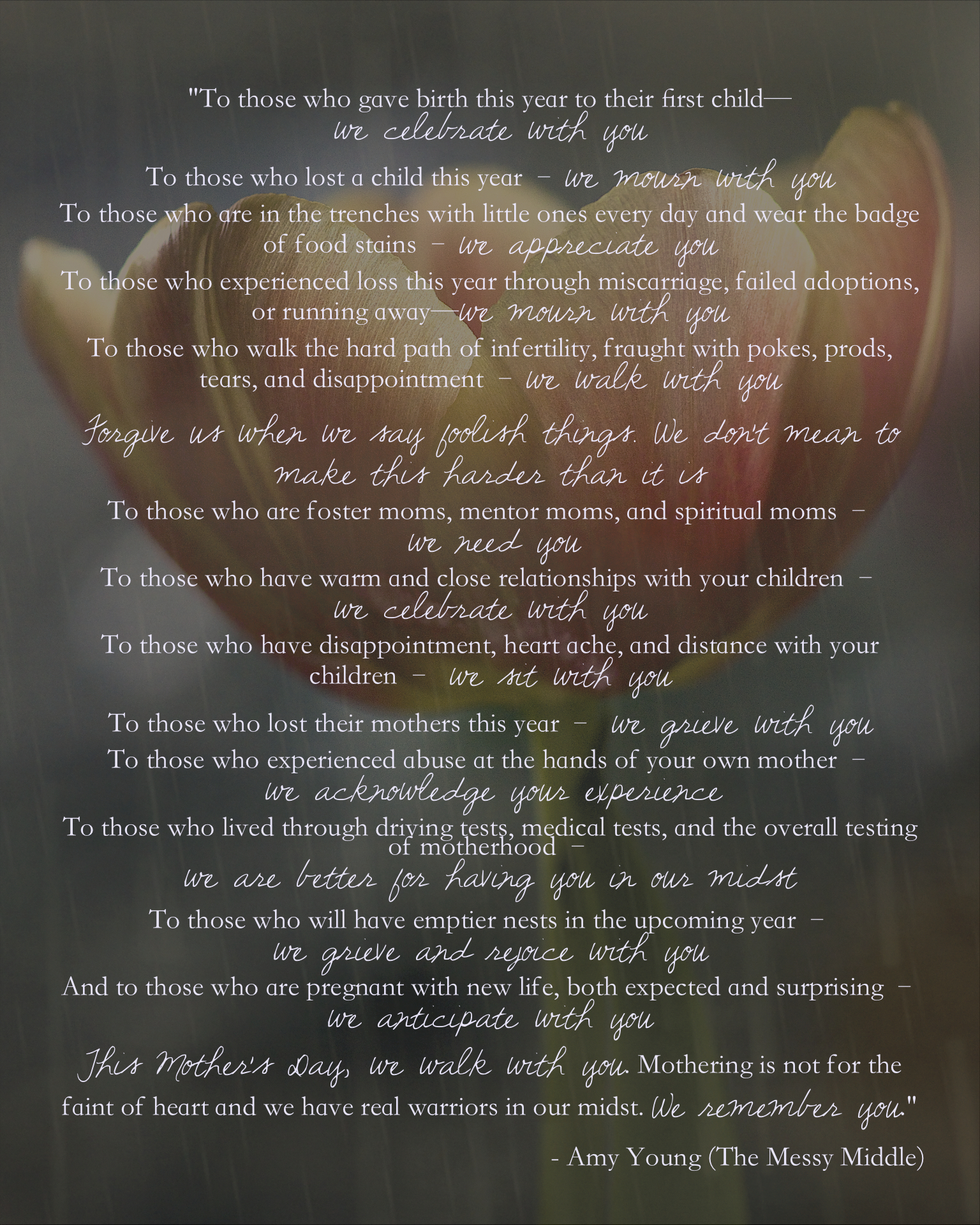 Mothers Day Infertility Quotes: Aria Arts & Photography